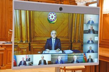 Под председательством премьер-министра Али Асадова состоялось первое заседание Экономического совета
