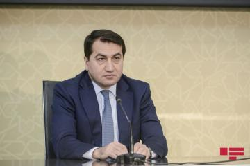 "Hikmat Hajiyev: ""Armenia is using the people from Lebanon and Syria resettled in the occupied territories as mercenaries"""