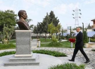 Park named after Murtuza Mukhtarov opened in Amirjan settlement of Baku - [color=red]UPDATED[/color]
