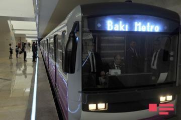 В Бакинском метрополитене в выходные дни пассажироперевозки не будут осуществляться