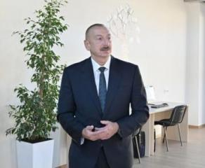 "President Ilham Aliyev: ""We must, as far as possible, meet the domestic demand with local products"""