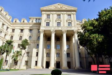 Azerbaijani MFA: Armenian leadership is undermining the negotiated settlement of the conflict with its policy of annexation