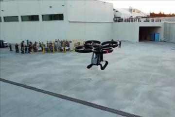 Türkiyənin ilk uçan avtomobilinin sınaq uçuşları həyata keçirilib