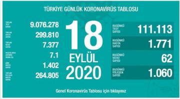 В Турции от коронавирусной инфекции скончались еще 62 пациента