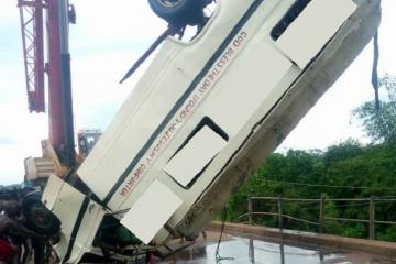 Nigeriyada avtobusun çaya düşməsi nəticəsində 15 nəfər ölüb