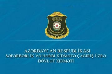 Azerbaijan's State Service lends clarity to the issue of conscription of military officials