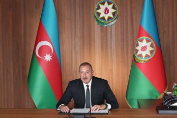 Президент Ильхам Алиев: Сегодня мир больше, чем когда-либо нуждается в уважении международного права
