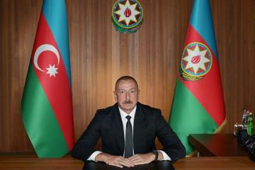 "President Ilham Aliyev: ""The world today needs, more than ever, respect for international law"""