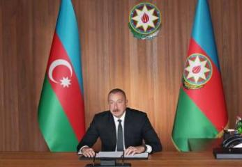 "Azerbaijani President: ""The glorification of Nazism is the state policy in Armenia"""