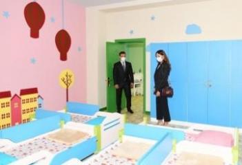 В поселке Шаган сдано в эксплуатацию новое здание детского сада № 212