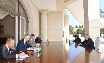 President Ilham Aliyev receives EU Special Representative for the South Caucasus