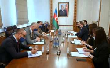 Azerbaijani FM meets with EU Special Representative for the South Caucasus