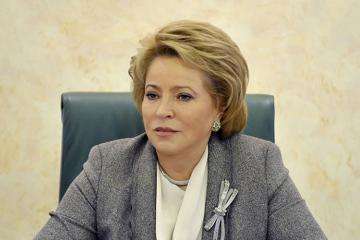 "Matvienko: ""Situation around Nagorno Garabagh is quite dangerous"""