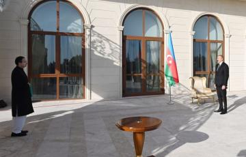 President Ilham Aliyev receives credentials of newly-appointed Ambassador of Pakistan to Azerbaijan