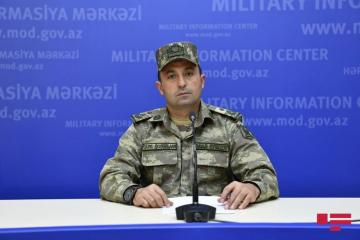 Azerbaijan's Defense Ministry reveals latest situation on frontline