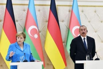 Angela Merkel makes a phone call to President Ilham Aliyev