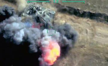 The two tanks of the enemy were destroyed in Tonashen - [color=red]VIDEO[/color]