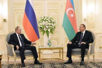 Президенты Азербайджана и России обсудили ситуацию вокруг Нагорного Карабаха - [color=red]ОБНОВЛЕНО[/color]