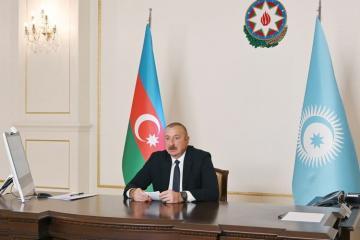Президент Ильхам Алиев: С первого дня войны мы получили большую поддержку от братской Турции
