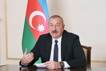 Ильхам Алиев: Если бы на Армению было оказано серьезное давление, то вопрос давно мог найти свое решение мирным путем