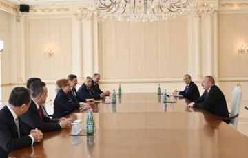 Azerbaijani President receives Turkish Minister of Trade