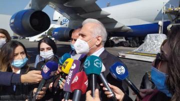 Замминистра здравоохранения: В Азербайджан доставлено 84 000 доз вакцины компании «AstraZeneca»
