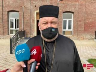 "Archpriest Konstantin: ""Azerbaijani state will do everything for restoration of territories, liberated from occupation"""