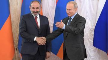 Путин и Пашинян сегодня проведут в Москве переговоры