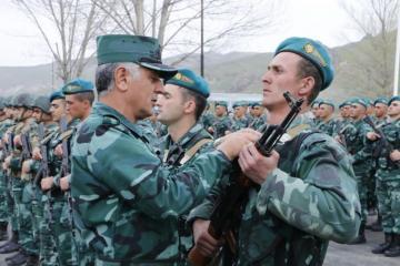 В Губадлинском районе открылась новая воинская часть
