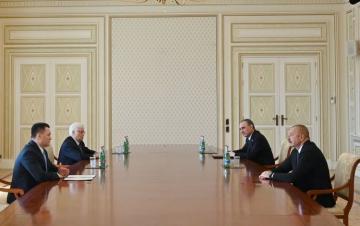 Azərbaycan Prezidenti Rusiyanın Baş prokuroru İqor Krasnovu qəbul edib