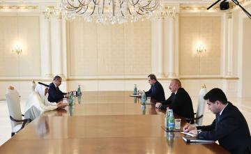 Президент Ильхам Алиев принял генсека ОИС - [color=red]ОБНОВЛЕНО[/color]