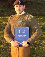 Азербайджанский офицер с отличием окончил Королевскую военную академию Великобритании в Сандхерсте