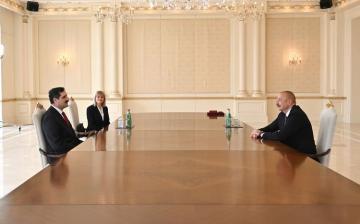 Президент Ильхам Алиев принял посла Турции - [color=red]ОБНОВЛЕНО[/color]