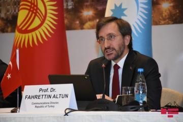 """Fəxrəddin Altun: """"Yeni təhdidlər qarşısında bizim Türk dünyası olaraq birlik olmağımız bir məcburiyyətdir"""""""
