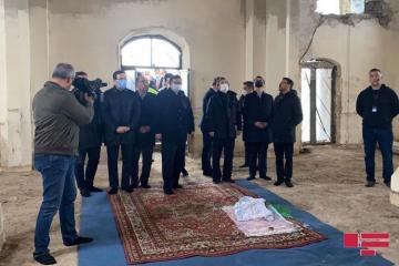 Делегации государств-членов Тюркского совета побывали в мечети Джума в Агдаме - [color=red]ОБНОВЛЕНО-1[/color]