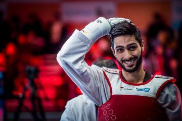 Азербайджанский таэквондист завоевал третью медаль на чемпионате Европы