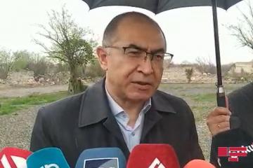 """Asadjon Xojayev:  """"Özbəkistan işğaldan azad olunmuş ərazilərin bərpası üçün öz köməyini təklif edib"""""""