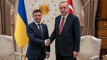 """Zelenski: """"Türkiyə ilə Ukrayna birgə təyyarə istehsal edəcək"""""""