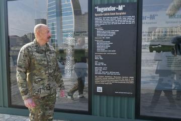 """Dövlət başçısı: """"Haradandır """"İsgəndər-M"""" raketləri Ermənistan Ordusunda? Bu raketlər olmamalı idi"""""""