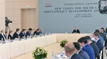 President Ilham Aliyev: I think we need to be more active in order to try to build bridges