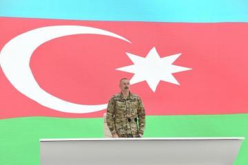 Президент Азербайджана: Армения является страной, павшей на колени перед нами, страной с опущенной головой