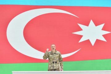 Президент Азербайджана: Саргсян после горького поражения обещал мне вернуть наши земли