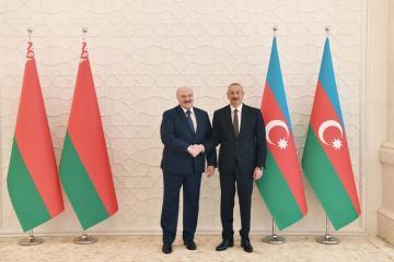 """Prezident İlham Əliyev: """"Azərbaycan-Belarus münasibətləri hər hansı problemlərdən tamamilə uzaqdır"""""""