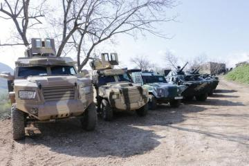 New military unit starts to operate on border with Armenia