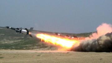 Zenit-Raket Qoşunlarında döyüş atışlı təlimlər keçirilib - [color=red]VİDEO[/color]