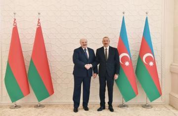Президент Ильхам Алиев: Отношения между Азербайджаном и Беларусью совершенно свободные от всяких проблем