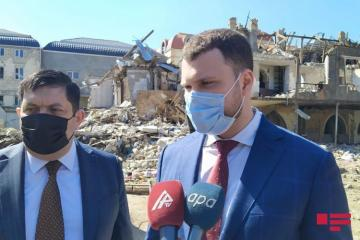 "Ukrainian minister: ""We will join in restoration process of liberated territories"""