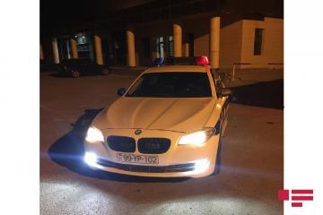 Abşeronda yol polisi piyadanı vurub qaçan şəxsi saxlayıb - [color=red]FOTO[/color]