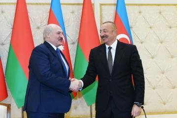 Ильхам Алиев: Уверен, что Беларусь может сыграть важную роль в будущем в налаживании контактов между Арменией и Азербайджаном