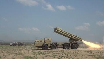 Rocket-artillery batteries conduct live-fire tactical exercises - [color=red]VIDEO[/color]